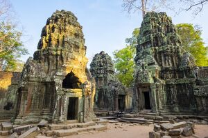 Ta Prohm temple (Rajavihara), Angkor, UNESCO World Heritage Site, Siem Reap Province