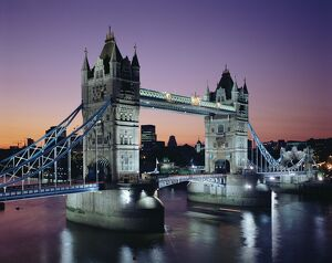 Tower Bridge, London, England, United Kingdom, Europe