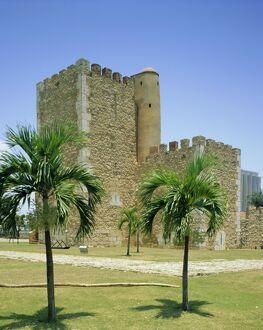 Tower of Homage, fortress, Santo Domingo, Dominican Republic, Caribbean, West Indies