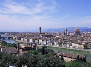 View of city from Piazzale Michelangelo