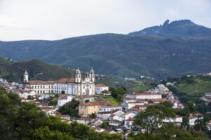 view colonial town ouro preto unesco world heritage
