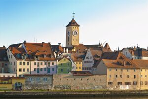 View of Regensburg, UNESCO World Heritage Site, Bavaria, Germany, Europe