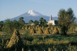 The volcano of Popocatepetl