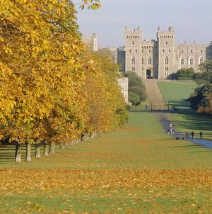 Windsor Castle in autumn, Berkshire, England