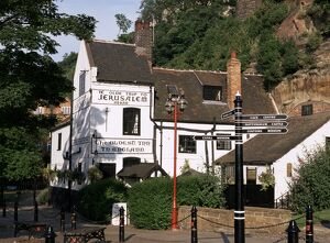 Ye Olde Trip to Jerusalem, the oldest inn in England, Nottingham, Nottinghamshire