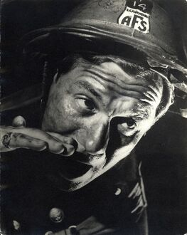 Auxilliary Fire Service Volunteer in Humphrey Jennings' Fires Were Started (1943)