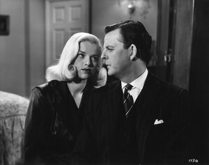 Diana Dors and David Tomlinson in Maurice Elvey's Is Your Honeymoon Really Necesary&#39