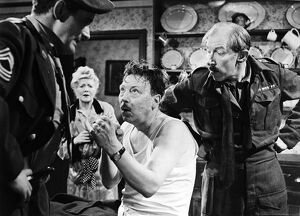 Dominic Roche, Olive Sloane, Leslie Dwyer, and Alan Sedgwick in Maurice Elvey's
