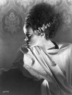 Elsa Lanchester in James Whale's Bride of Frankenstein (1935)