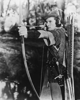 Errol Flynn in Michael Curtiz's The Adventures of Robin Hood (1938)
