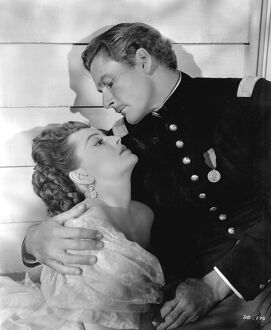 Errol Flynn and Olivia De Havilland in Raoul Walsh's They Died With Their Boots On