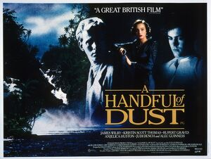 Film Poster for Charles Sturridge's A Handful of Dust (1987)