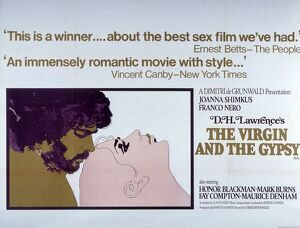 Film Poster for Christopher Miles' The Virgin and the Gypsy (1970)