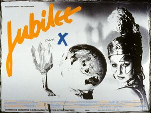 Film Poster for Derek Jarman's Jubilee (1978)