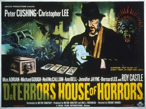 Film Poster for Freddie Francis' Dr Terror's House of Horror (1964)
