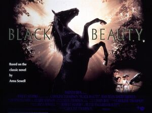 Film Poster for James Hill's Black Beauty (1971)