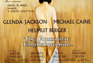 Film Poster for Joseph Losey's The Romantic Englishwoman (1975)