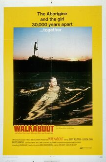 Film Poster for Nicholas Roeg's Walkabout (1970)