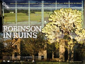 Film Poster for Patrick Keiller's Robinson in Ruins (2010)