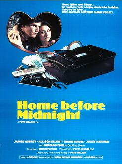 Film Poster for Pete Walker's Home Before Midnight (1978)