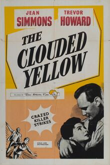 Film Poster for Ralph Thomas's The Clouded Yellow (1950)