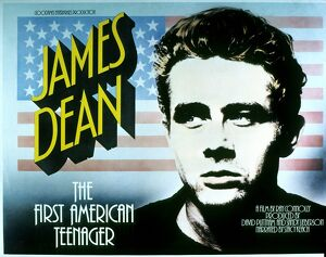 Film Poster for Ray Connolly's James Dean - First American Teenager (1975)