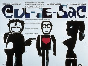 Film Poster for Roman Polanski's Cul-De-Sac (1966)