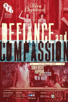 Poster for Vera Chytilova Season Defiance and Compassion at BFI Southbank (1 - 17