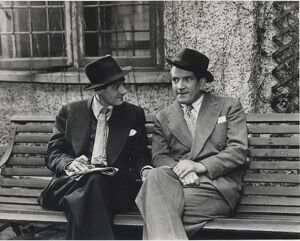 Henry Brice and Ted Ray in Horace Shepherd's A Ray of Sunshine (1950)
