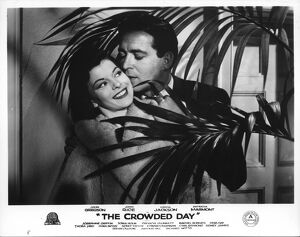 Joan Rice and John Gregson in John Guilleraman's The Crowded Day (1954)