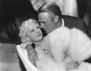 Mae West and Randolph Scott in Henry Hathaway's Go West Young Man (1936)