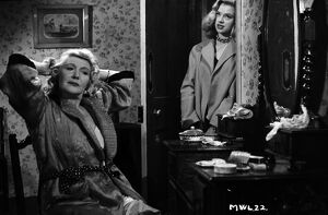 Olive Sloane and Diana Dors in Maurice Elvey's My Wife's Lodger (1952)