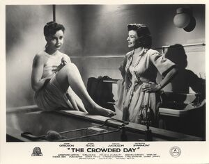 Patricia Plunkett and Joan Rice in John Guillermin's The Crowded Day (1954)