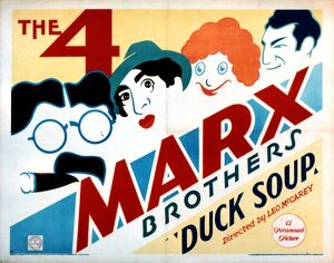 Poster for Leo McCarey's Duck Soup (1933)