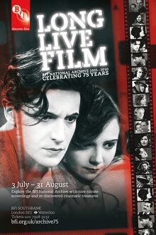 Poster for LONG LIVE FILM Season at BFI Southbank (3 July - 31 August 2010)