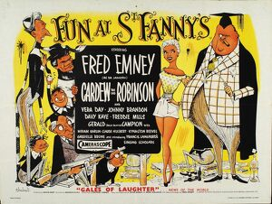 Poster for Maurice Elvey's Fun At St Fanny's (1955)