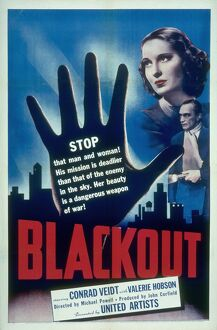 Poster for Michael Powell's Blackout (1940)