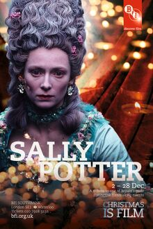 Poster for Sally Potter Season at BFI Southbank (2 - 28 Dec 2009)