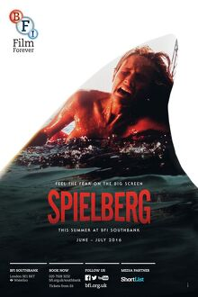 bfi southbank posters/poster spielberg season bfi southbank june