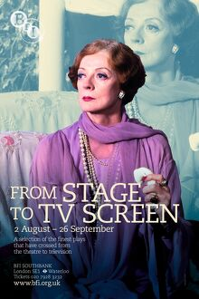 Poster for From Stage to TV Screen Season at BFI Southbank (2 August - 26 September 2009)