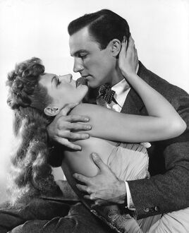 Rita Hayworth and Gene Kelly in Charles Vidor's Cover Girl (1944)