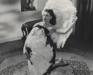 Roberta and her Feathered Friends in Horace Shepherd's A Ray of Sunshine (1950)