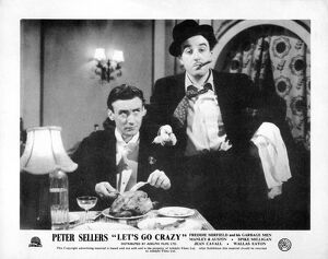 Spike Milligan and Peter Sellers in Alan Cullimore's Let's Go Crazy (1951)