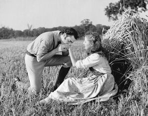 Terence Alexander and Sylvia Welling in Walter C Mycroft's Comin' Thro' the Rye