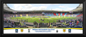 2015 Scottish FA Cup Final Framed Panoramic