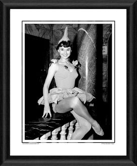 Audrey Hepburn Sauce Piquante Framed Photographic Print