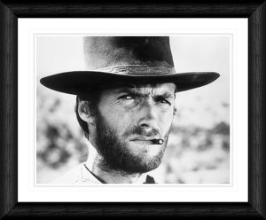 Clint Eastwood The Good The Bad and The Ugly Framed Print