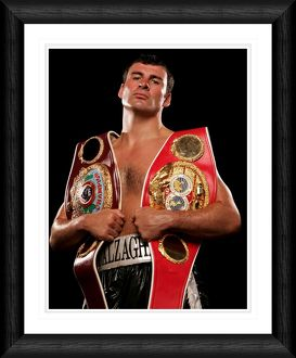 Joe Calzaghe Framed Print