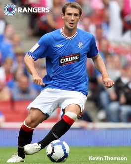 Kevin Thomson Rangers FC 10x8 Photograph