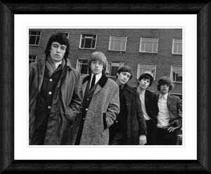 The Rolling Stones London 1964 Framed Print